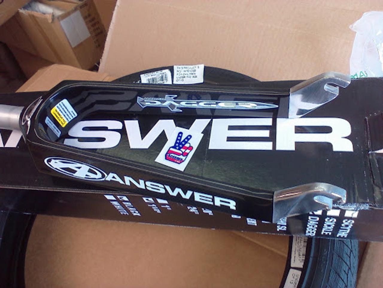 """NEW Box XL 24/"""" Cruiser Carbon fiber BMX racing fork 10mm 1 1//8 threadless  race"""