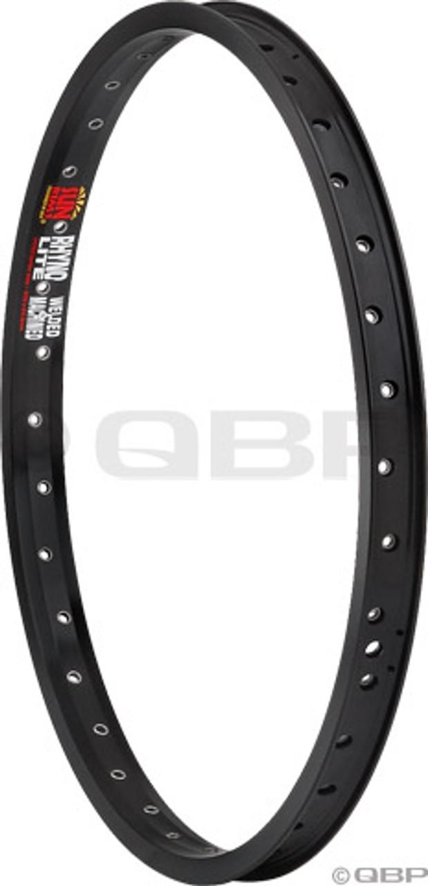blk SunRingle XL Rhyno Lite 26 welded rim 36h