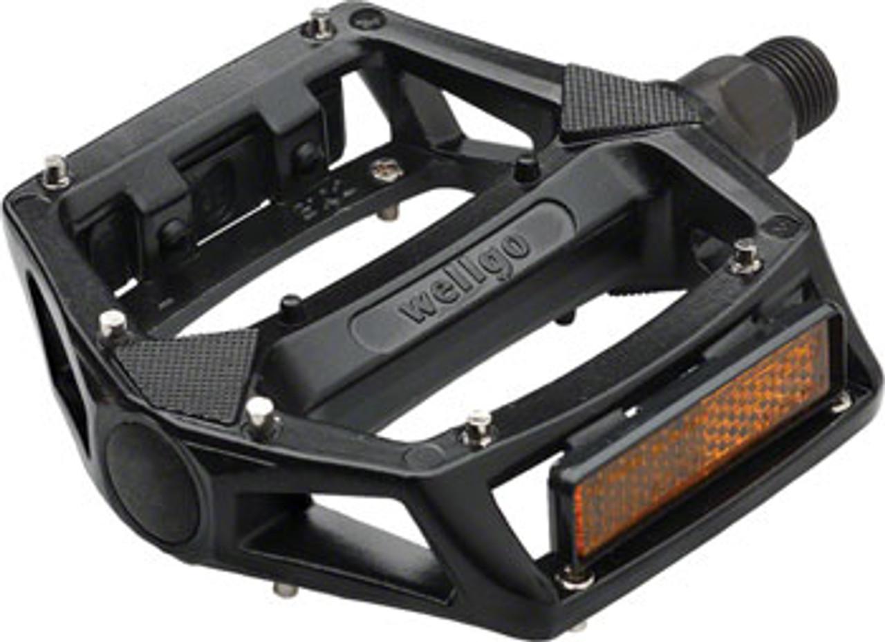 Wellgo Mini Bmx Pedals 9//16 Black Pair