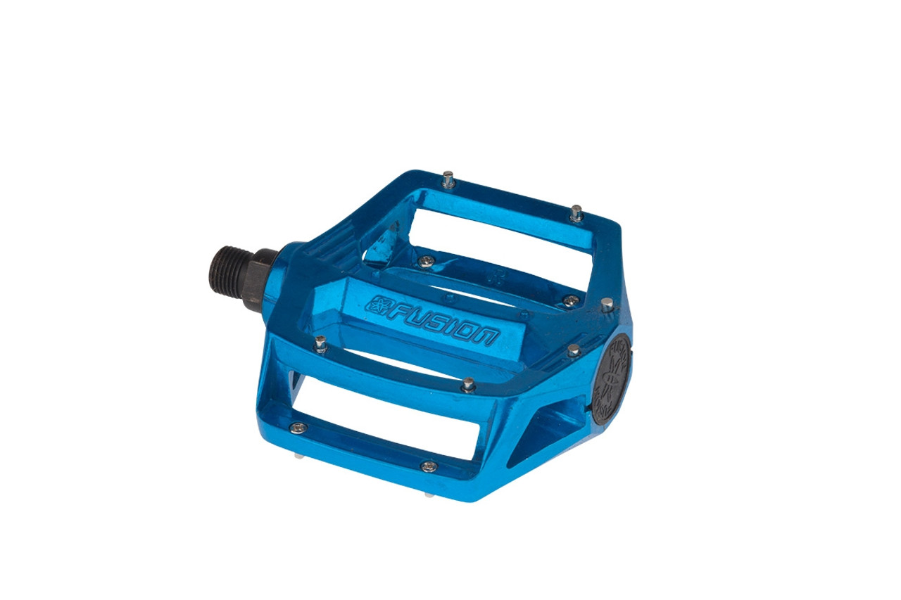 """BLACK OPS PLATFORM ALLOY ANODIZED BLUE 9//16/"""" BICYCLE PEDALS"""