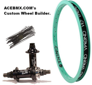 ACEBMX.COM's Custom Wheel Builder Spoke Calculator
