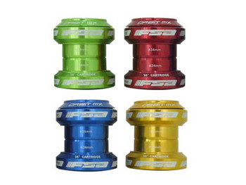 """New FSA ORBIT MX Traditional Threadless Headset 1-1//8/"""" With top cap Red color"""