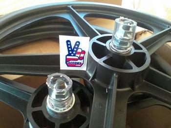 Skyway Tuff Wheels BMX Black BMX Mags
