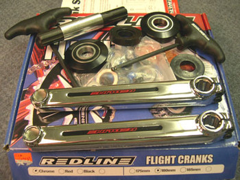 Redline 401 Flight BMX Cranks New USA MADE