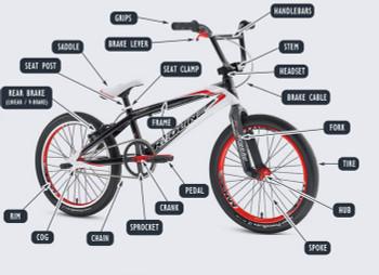 "BMX Racing Pro 20"" Pro Build Kit"