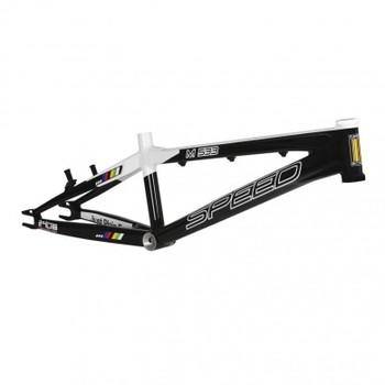 Speed M533 Pro XL BMX Bike Frame White