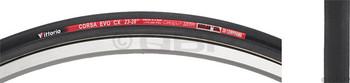 Vittoria Corsa EVO CX 700c Tubular Tire Black