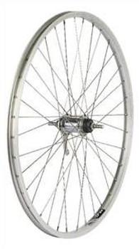 "Alex Coaster Brake Wheelset 26"" Silver"