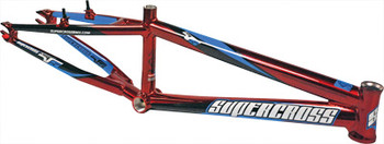 Supercross Envy V5 BMX Frame Pro Polished