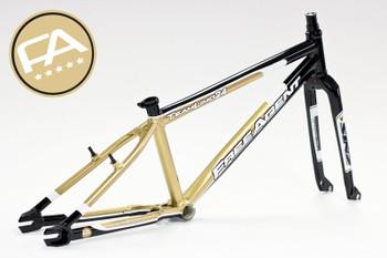 Free Agent BMX Frameset Frame & Fork & Headset 2012