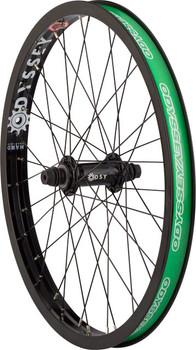 Odyssey Q1 Front Wheel Hazard Lite Rim Quartet Front Hub