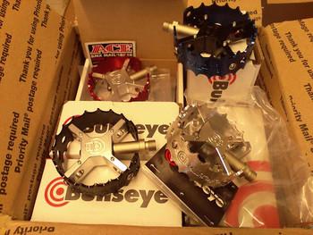 Bullseye BMX Pedals