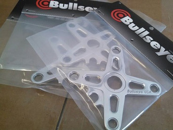 Bullseye BMX Cranks 175mm Red Sold