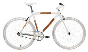 GreenStar Force 1 Fixed Gear Bamboo Bike