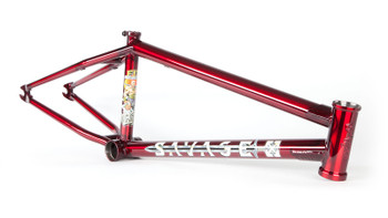 Fit Savage Frame BMX Red