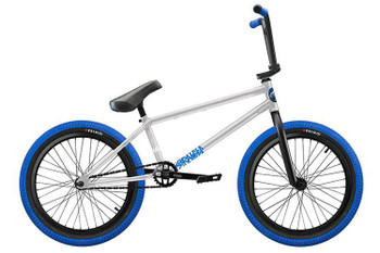 Stranger Level Complete BMX Bike 2018 Black/Blue Last One