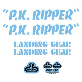 SE Racing PK Ripper Sticker Kit