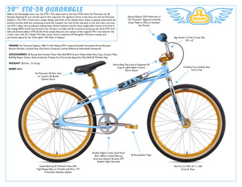 STR 24 Quadangle bike