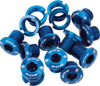 Box Spiral Alloy Chainring Bolts