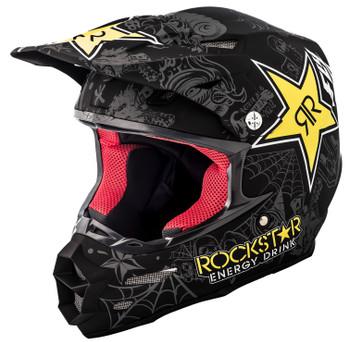 F2 Carbon Rockstar Helmet