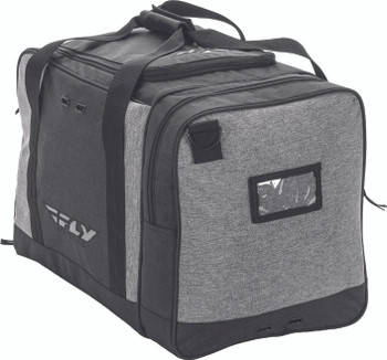 CARRY-ON DUFFLE BLACK/GREY