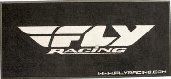 """FLOOR RUG BLACK/WHITE 73""""X33"""""""