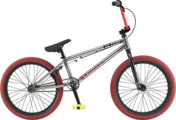 GT Air BMX Bike in Raw Color