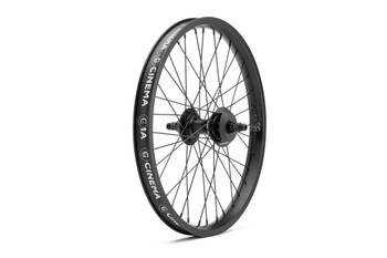 Cinema 888 Rear Cassette Wheel Black w/ Polished