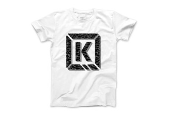 Kink Cracked-K-Brick Tee White