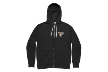 Kink Union Zip-Up Hoodie Black