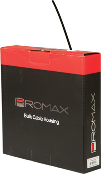 BULK GEAR CABLE HOUSING BLACK 98'X4MM