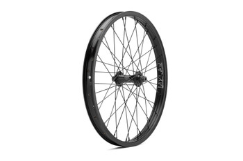 Mission Radar Front Wheel Black w/ Silver