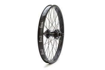 Fiend Cab v2 Freecoaster Wheel: Black w/ Red Hub