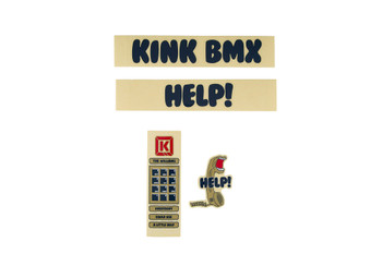 Kink Williams Decals Blue/Tan