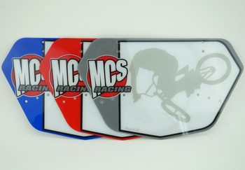 MCS BMX Number Plate-1