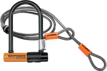 Evolution Mini 7 U-Lock W/4' Flex Cable
