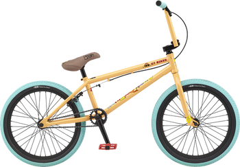 GT Performer Bike BMX Peach