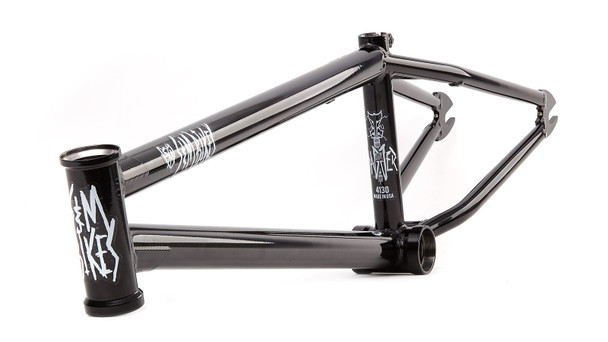 S&M Dagger BMX Frame 20.5 Model Gloss Black SALE