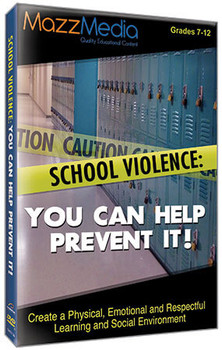 Book cover of  School Violence: You Can Help Prevent It!