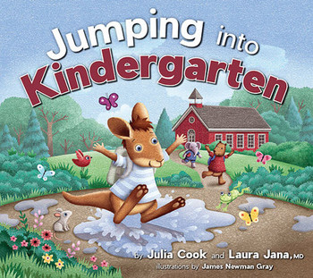 Book cover of  Jumping into Kindergarten