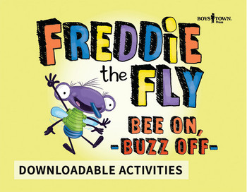 Downloadable Activities: Freddie the Fly - Bee On, Buzz Off