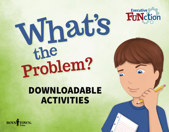 Downloadable Activities cover: What's the Problem
