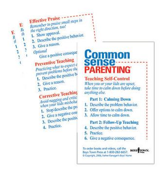 Common Sense Parenting Skill Cards