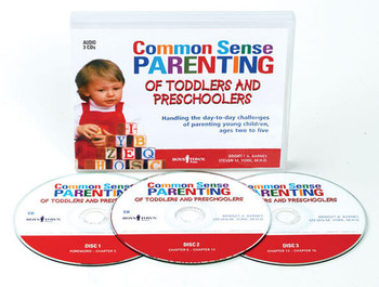 Common Sense Parenting of Toddlers and Preschoolers Audio Book, 1st Edition