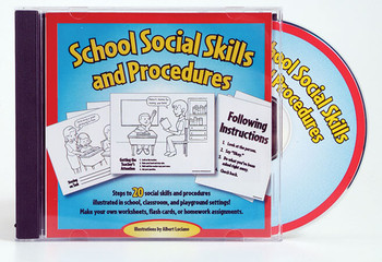School Social Skills and Procedures CD