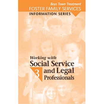 Booklet Cover of Working with Social Service and Legal Professionals