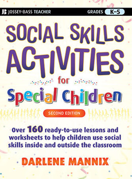 Book cover of  Social Skills Activities for Special Children