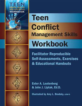 Book cover of  Teen Conflict Management Skills Workbook