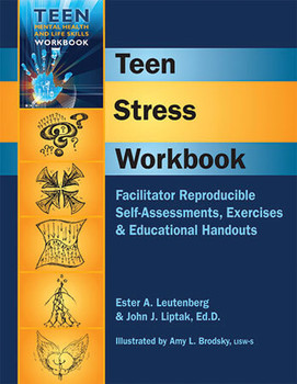 Book cover of  Teen Stress Workbook