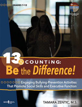 Book cover of  13 & Counting: Be the Difference